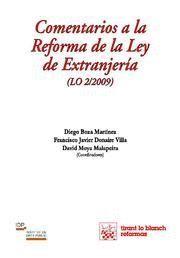 COMENTARIOS A LA REFORMA DE LA LEY DE EXTRANJERIA