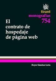 CONTRATO DE HOSPEDAJE DE PAGINA WEB, EL