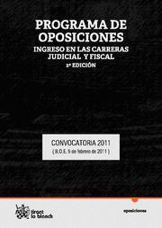 PROGRAMA DE OPOSICONES INGRESO EN LAS CARRERAS JUDICIAL Y FISCAL