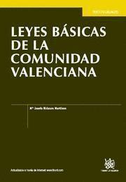 LEYES BASICAS DE LA COMUNIDAD VALENCIANA