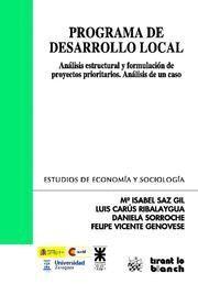 PROGRAMA DE DESARROLLO LOCAL