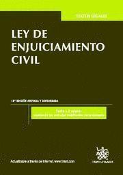 LEY DE ENJUICIAMIENTO CIVIL ANOTADA Y CONCORDADA