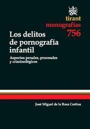 DELITOS DE PORNOGRAFIA INFANTIL, LOS ASPECTOS PENALES, PROCESALES Y CRIMINOLOGICOS