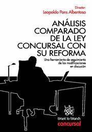 ANALISIS COMPARADO DE LA LEY CONCURSAL CON SU REFORMA UNA HERRAMIENTA DE SEGUIMIENTO DE LAS MODIFICA