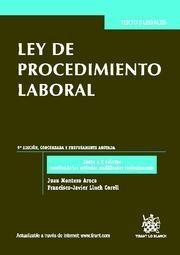 LEY DE PROCEDIMIENTO LABORAL 9ª ED. 2011
