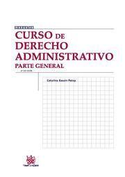 CURSO DE DERECHO ADMINISTRATIVO PARTE GENERAL