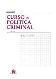 CURSO DE POLÍTICA CRIMINAL