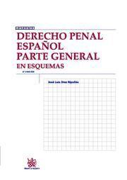 DERECHO PENAL ESPAÑOL PARTE GENERAL EN ESQUEMAS