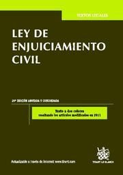 LEY DE ENJUICIAMIENTO CIVIL 20ª ED. 2012