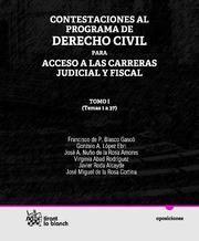 CONTESTACIONES AL PROGRAMA DE DERECHO CIVIL TOMO I PARA ACCESO A LAS CARRERAS JUDICIAL Y FISCAL