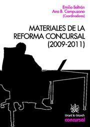 MATERIALES DE LA REFORMA CONCURSAL (2009-2011)