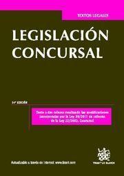 LEGISLACIÓN CONCURSAL 14ª ED. 2012