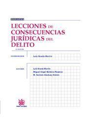 LECCIONES DE CONSECUENCIAS JURÍDICAS DEL DELITO