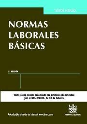 NORMAS LABORALES BÁSICAS 3ª ED. 2012