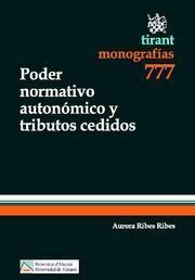 PODER NORMATIVO AUTONÓMICO Y TRIBUTOS CEDIDOS