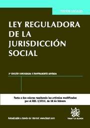 LEY REGULADORA DE LA JURISDICCIÓN SOCIAL 2ª EDICIÓN 2012
