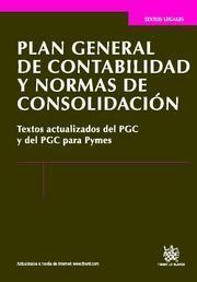 PLAN GENERAL DE CONTABILIDAD Y NORMAS DE CONSOLIDACIÓN
