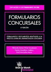 FORMULARIOS CONCURSALES 4ª EDICIÓN