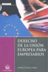 DERECHO DE LA UNIÓN EUROPEA PARA EMPRESARIOS