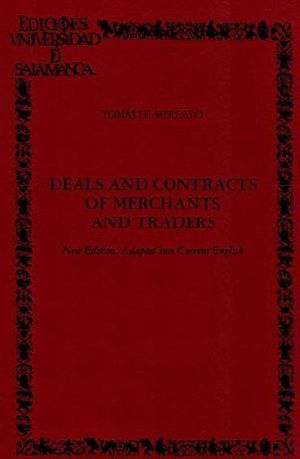 DEALS AND CONTRACTS OF MERCHANTS AND TRADERS