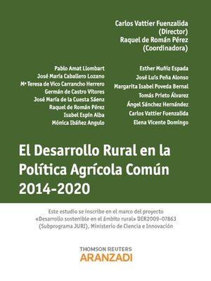 EL DESARROLLO RURAL EN LA POLTICA AGRCOLA COMÚN 2014-2020