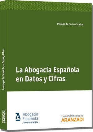 LA ABOGACÍA ESPAÑOLA EN DATOS Y CIFRAS