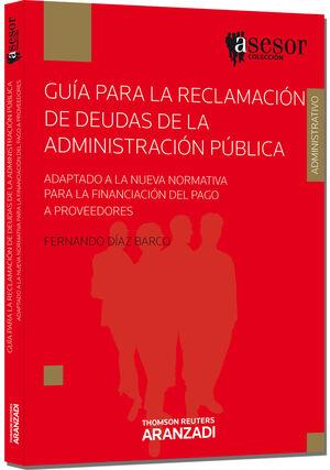 GUÍA PARA LA RECLAMACIÓN DE DEUDAS DE LA ADMINISTRACIÓN PÚBLICA