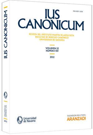 IUS CANONICUM 103
