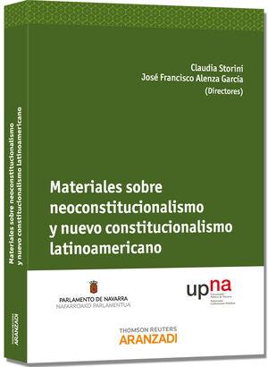 MATERIALES SOBRE NEOCONSTITUCIONALISMO Y NUEVO CONSTITUCIONALISMO LATINOAMERICANO
