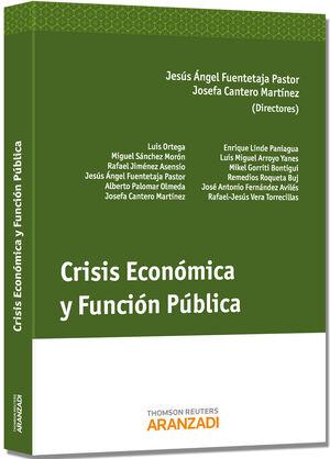 CRISIS ECONÓMICA Y FUNCIÓN PÚBLICA