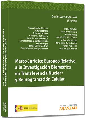 MARCO JURÍDICO EUROPEO RELATIVO A LA INVESTIGACIÓN BIOMÉDICA EN TRANSFERENCIA NUCLEAR Y REPROGRAMACIÓN CELULAR