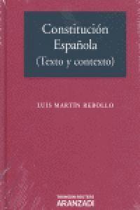 CONSTITUCIÓN ESPAÑOLA (TEXTO Y CONTEXTO)