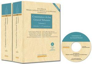 COMENTARIOS A LA LEY GENERAL TRIBUTARIA ( 2 TOMOS ) INCLUYE CD