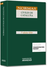 NORMAS CIVILES DE CATALUÑA (PAPEL + E-BOOK)