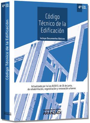CÓDIGO TÉCNICO DE LA EDIFICACIÓN ACTUALIZADO POR LA LEY 8/2013, DE 26 DE JUNIO, DE REHABILITACIÓN, R