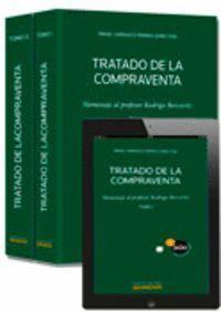 TRATADO DE LA COMPRAVENTA (2 TOMOS)  (PAPEL + E-BOOK) HOMENAJE AL PROFESOR RODRIGO BERCOVITZ