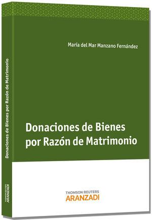 DONACIONES DE BIENES POR RAZÓN DE MATRIMONIO