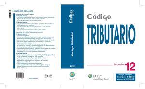 CÓDIGO TRIBUTARIO 2012