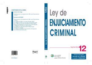 LEY DE ENJUICIAMIENTO CRIMINAL 2012