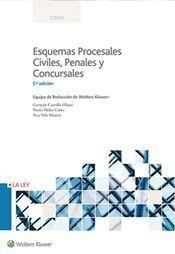 ESQUEMAS PROCESALES CIVILES, PENALES Y CONCURSALES (5.ª EDICIÓN)