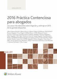 PRÁCTICA CONTENCIOSA PARA ABOGADOS 2016