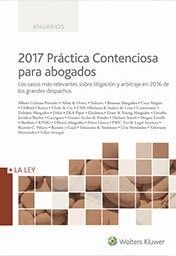 2017 PR�CTICA CONTENCIOSA PARA ABOGADOS
