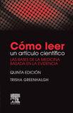 CÓMO LEER UN ARTÍCULO CIENTÍFICO (5ª ED.)
