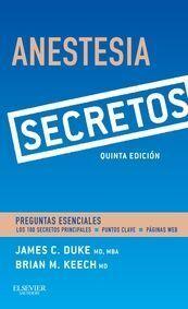 ANESTESIA. SECRETOS (5ª ED.)