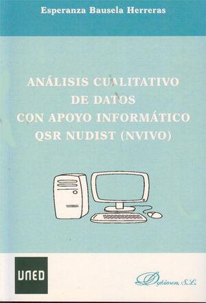 ANÁLISIS CUALITATIVO DE DATOS CON APOYO INFORMÁTICO QSR NUDIST (NVIVO)