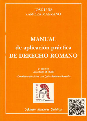 MANUAL DE APLICACIÓN PRÁCTICA DE DERECHO ROMANO