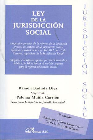 LEY DE LA JURISDICCIÓN SOCIAL 2012