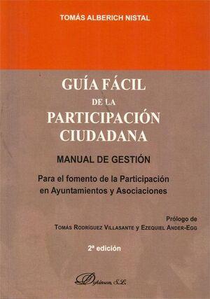 GUA FÁCIL DE LA PARTICIPACIÓN CIUDADANA MANUAL DE GESTIÓN PARA EL FOMENTO DE LA PARTICIPACIÓN EN AY