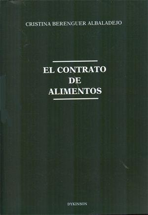 EL CONTRATO DE ALIMENTOS