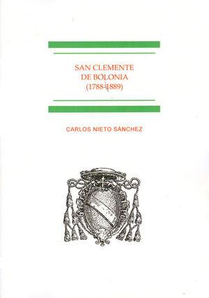SAN CLEMENTE DE BOLONIA 1788-1889